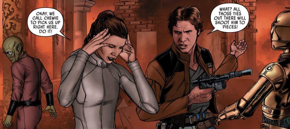Star Wars #67 Leia and Han