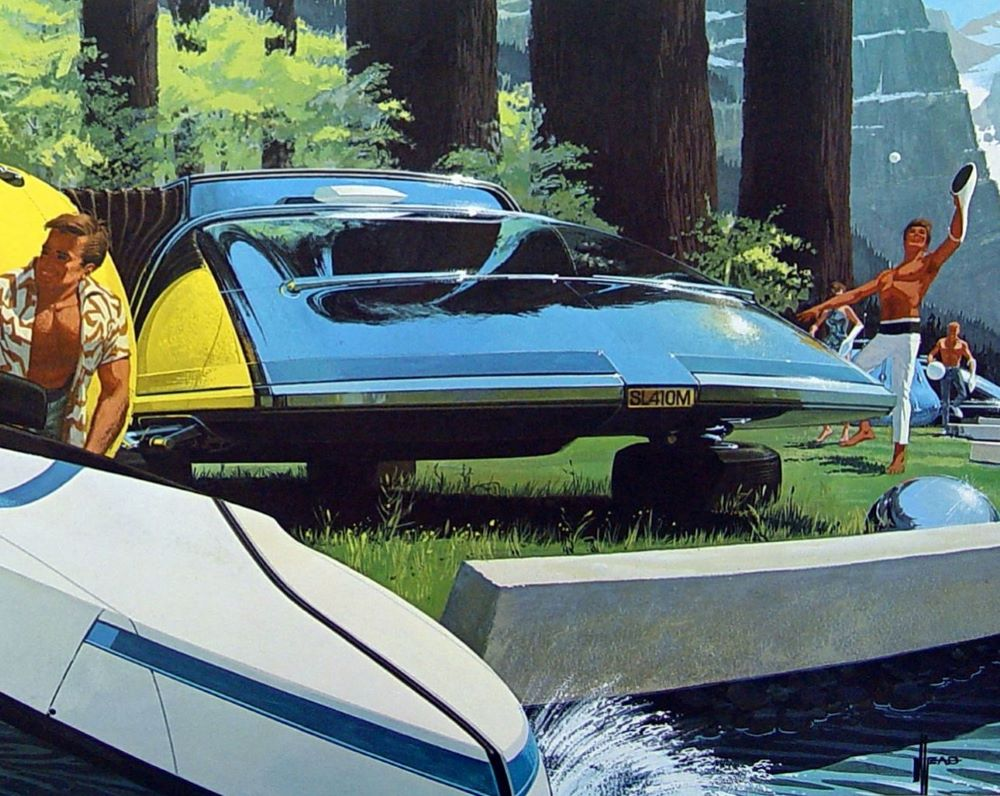Syd Mead Concept Car