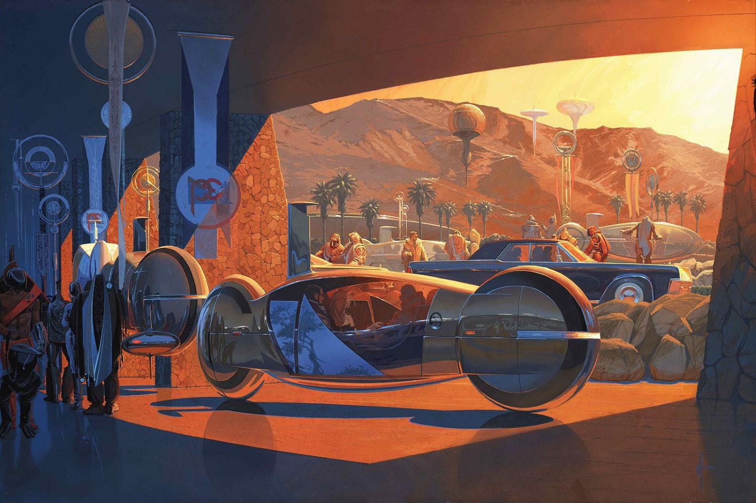 Syd Mead Hyper Bike