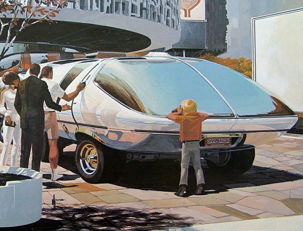 Syd Mead Hyper Van