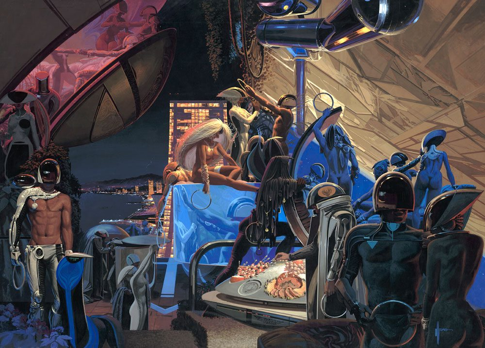 Syd Mead Menagerie