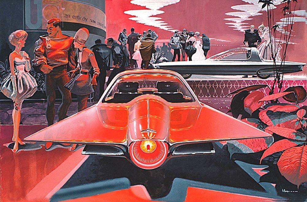 Syd Mead Futuristic