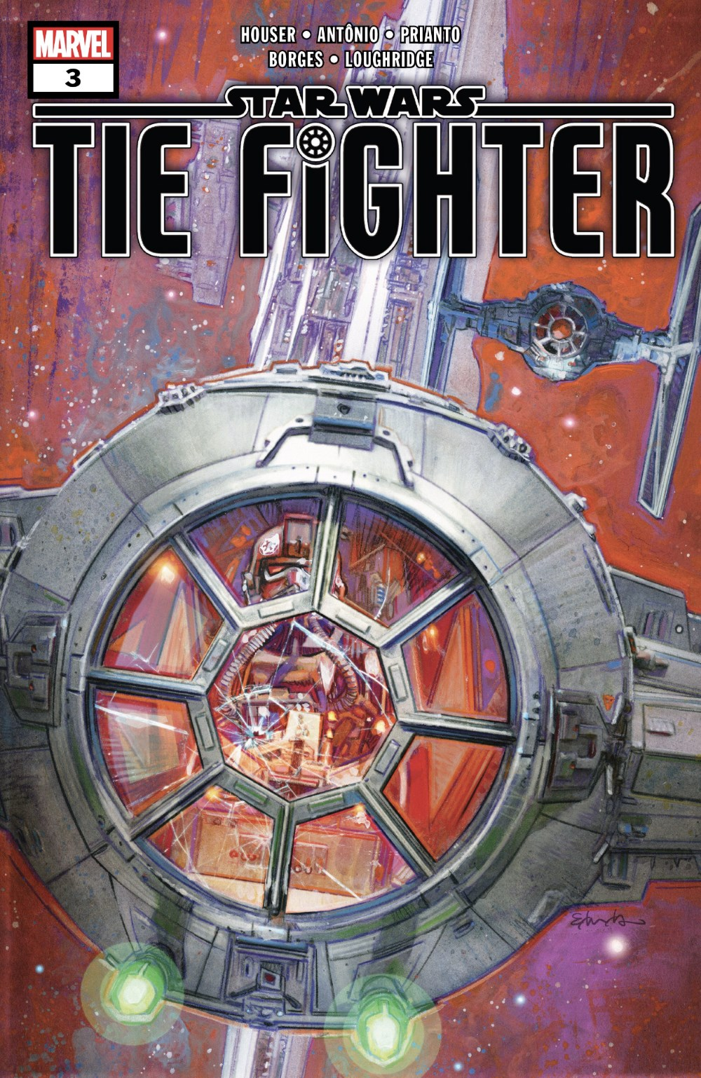 TIE Fighter #3 Cover