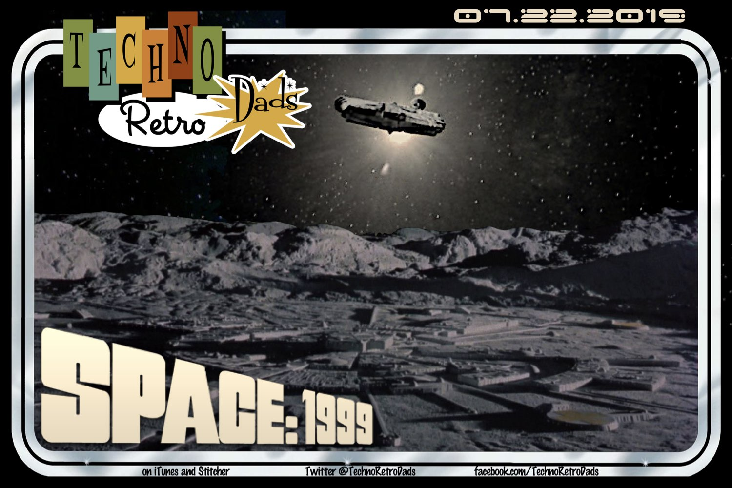 TechnoRetro Dads FLASHBACK+: Don't Want to Live on Moonbase Alpha