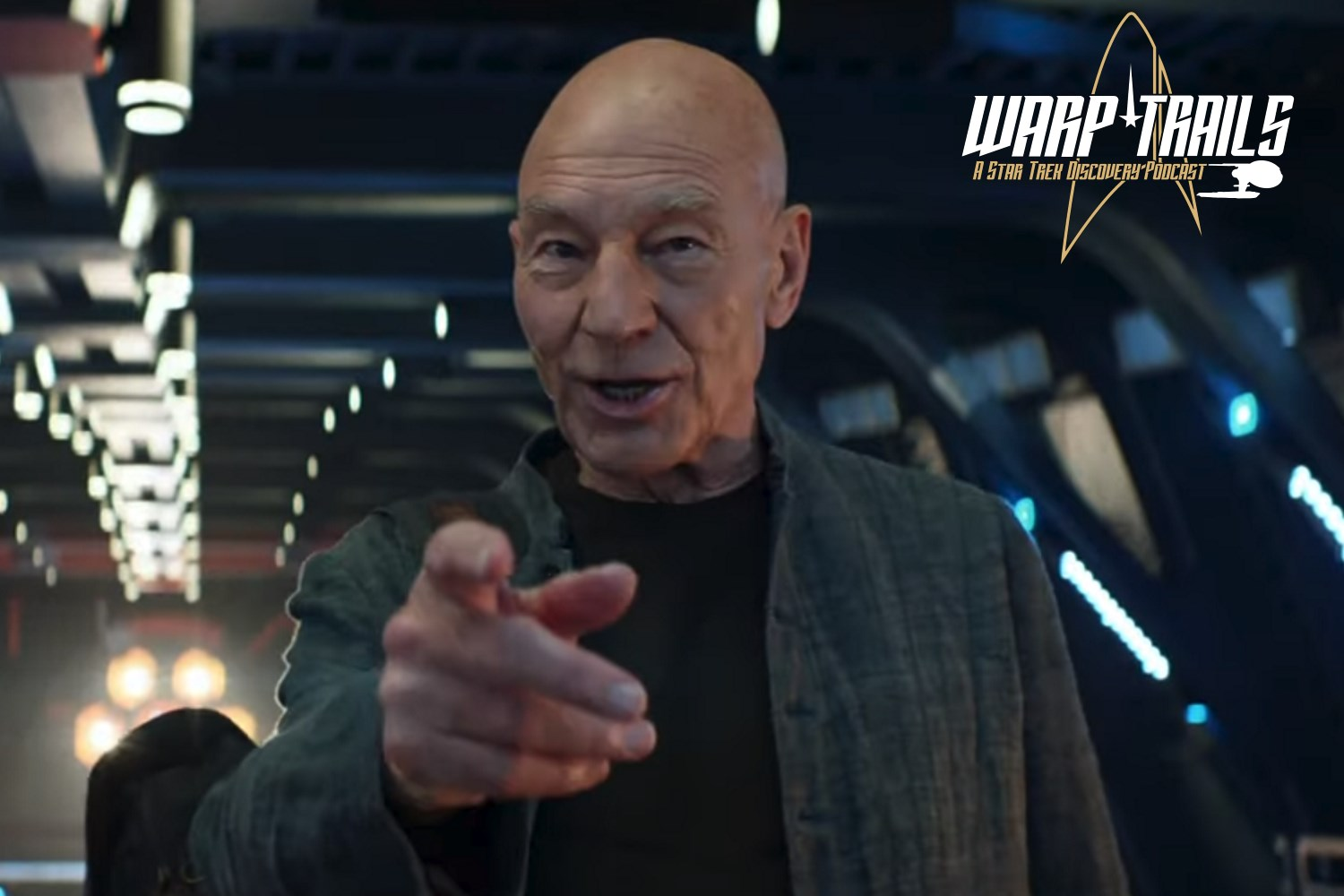 Warp Trails - Star Trek at Comic Con 2019 - Picard