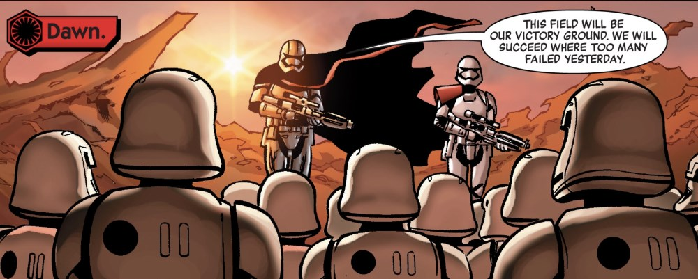 Age of Resistance - Captain Phasma #1 - battle at dawn