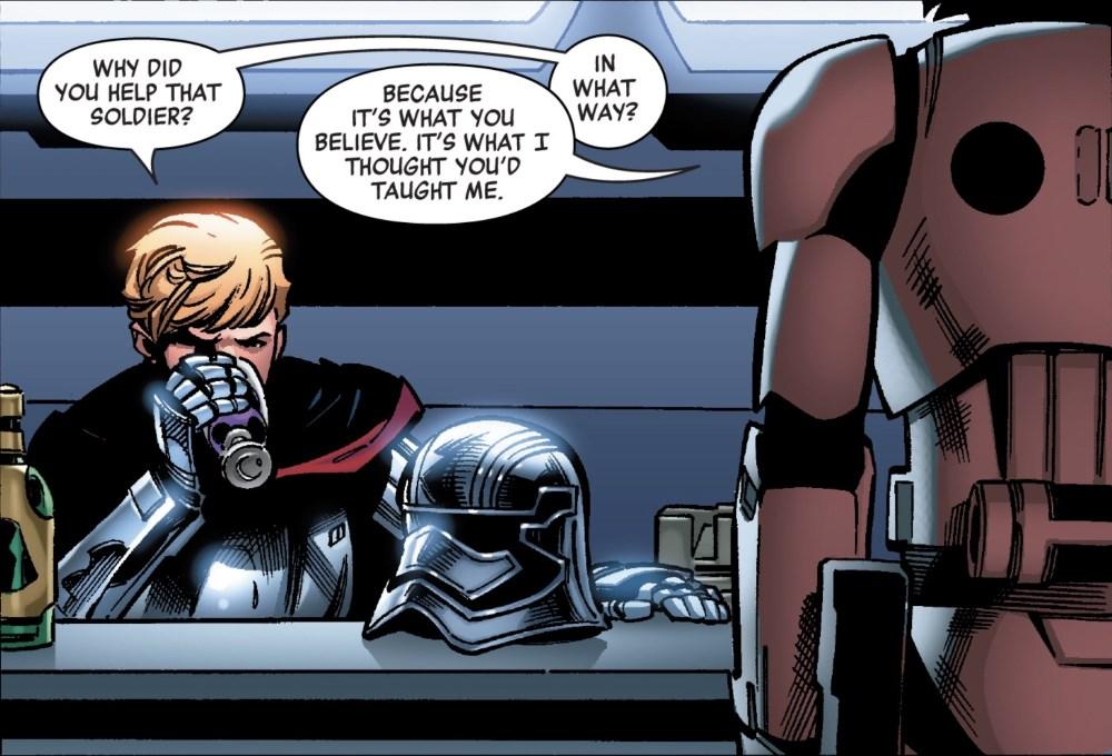 Captain Phasma #1 - No Helmet