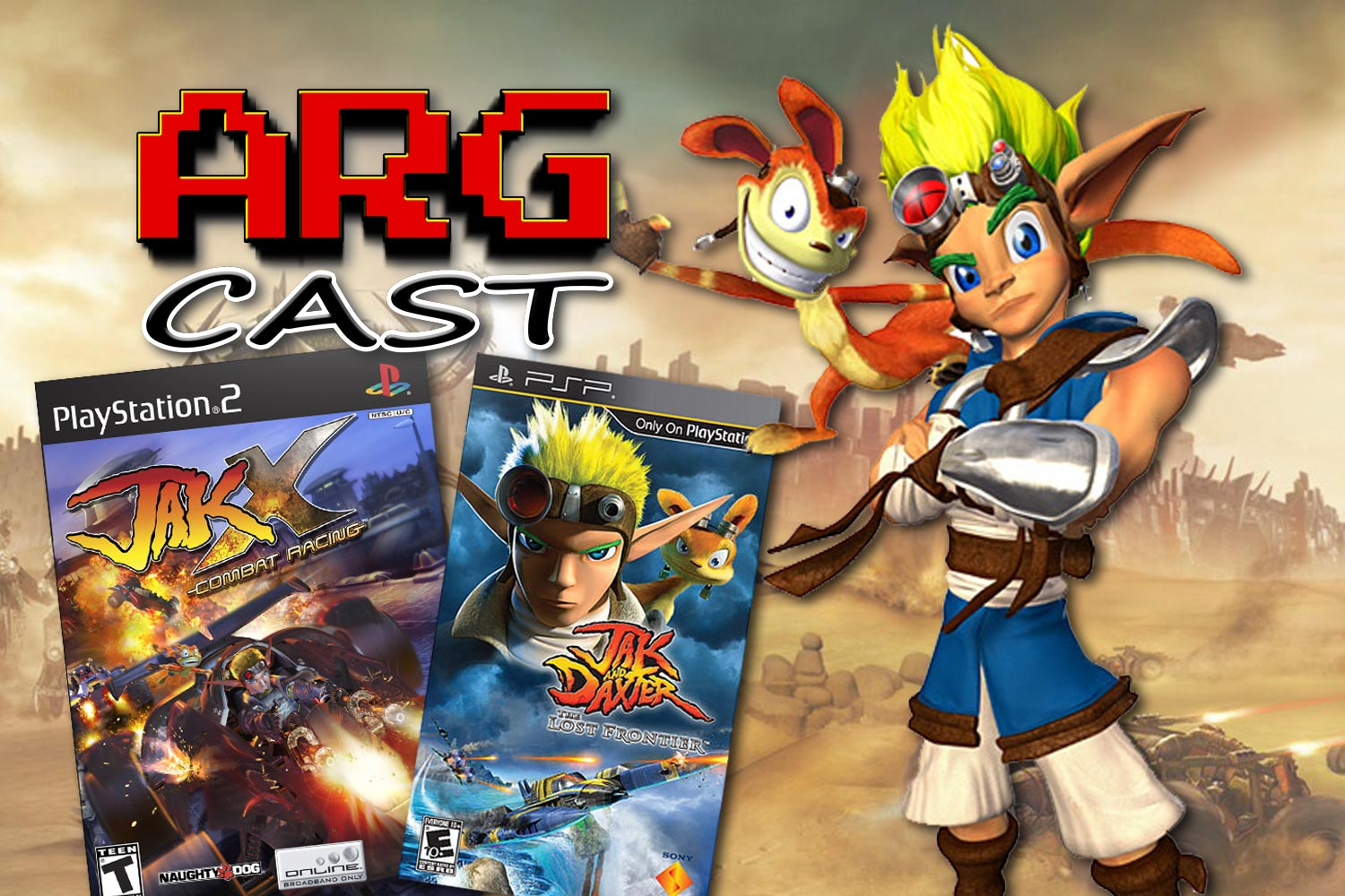 ARGcast #170: Looking Back at Jak and Daxter w/ Taylor Lyles