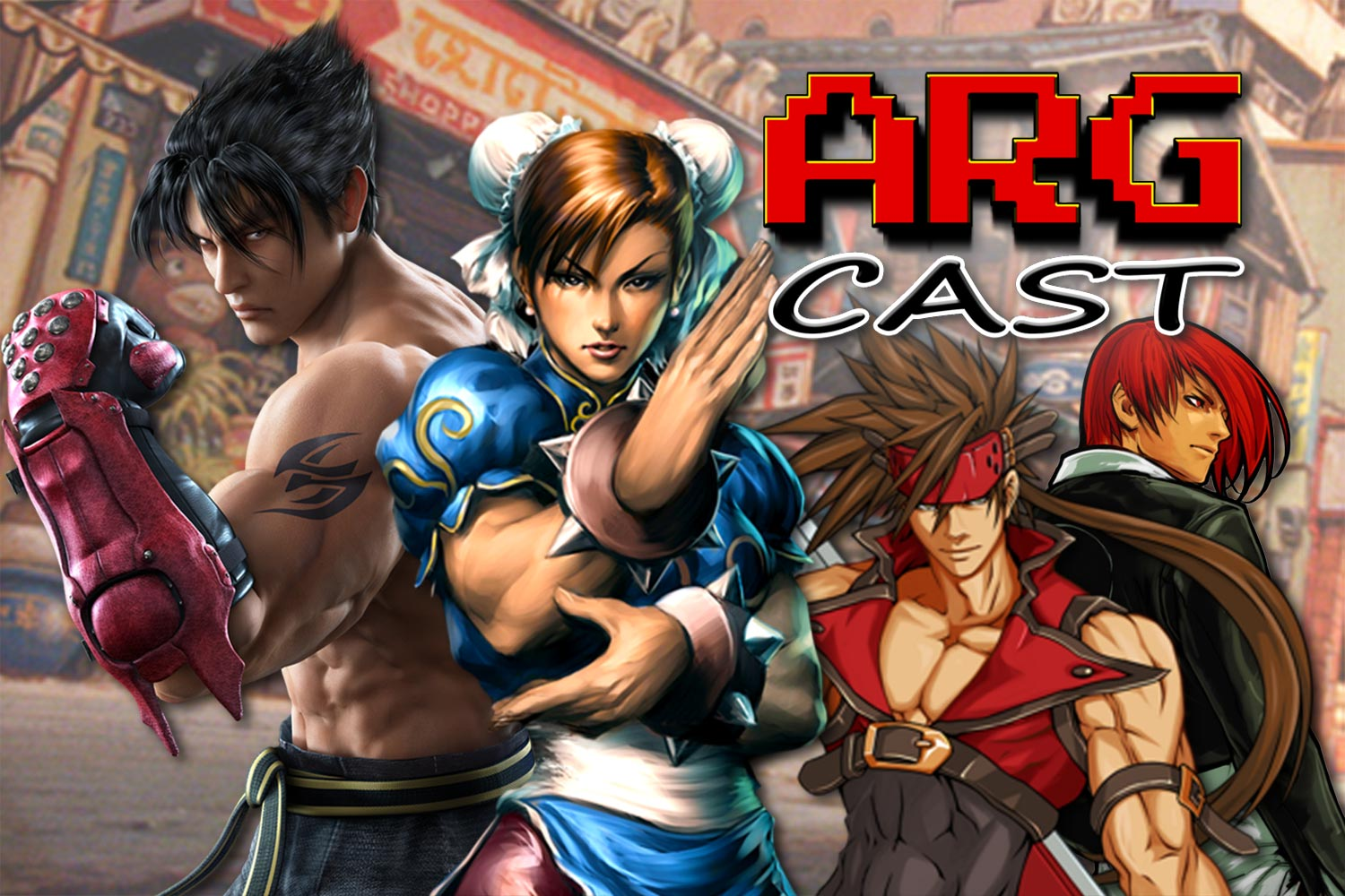 ARGcast #171: Retro Fighting Games w/ Ash Paulsen and Andre Tipton