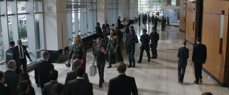 Stark Industries Lobby