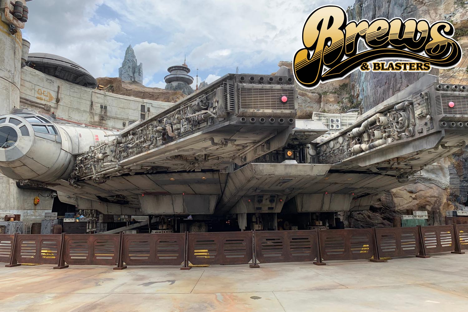 Brews and Blasters 221: Star Wars Galaxy's Edge at Walt Disney World