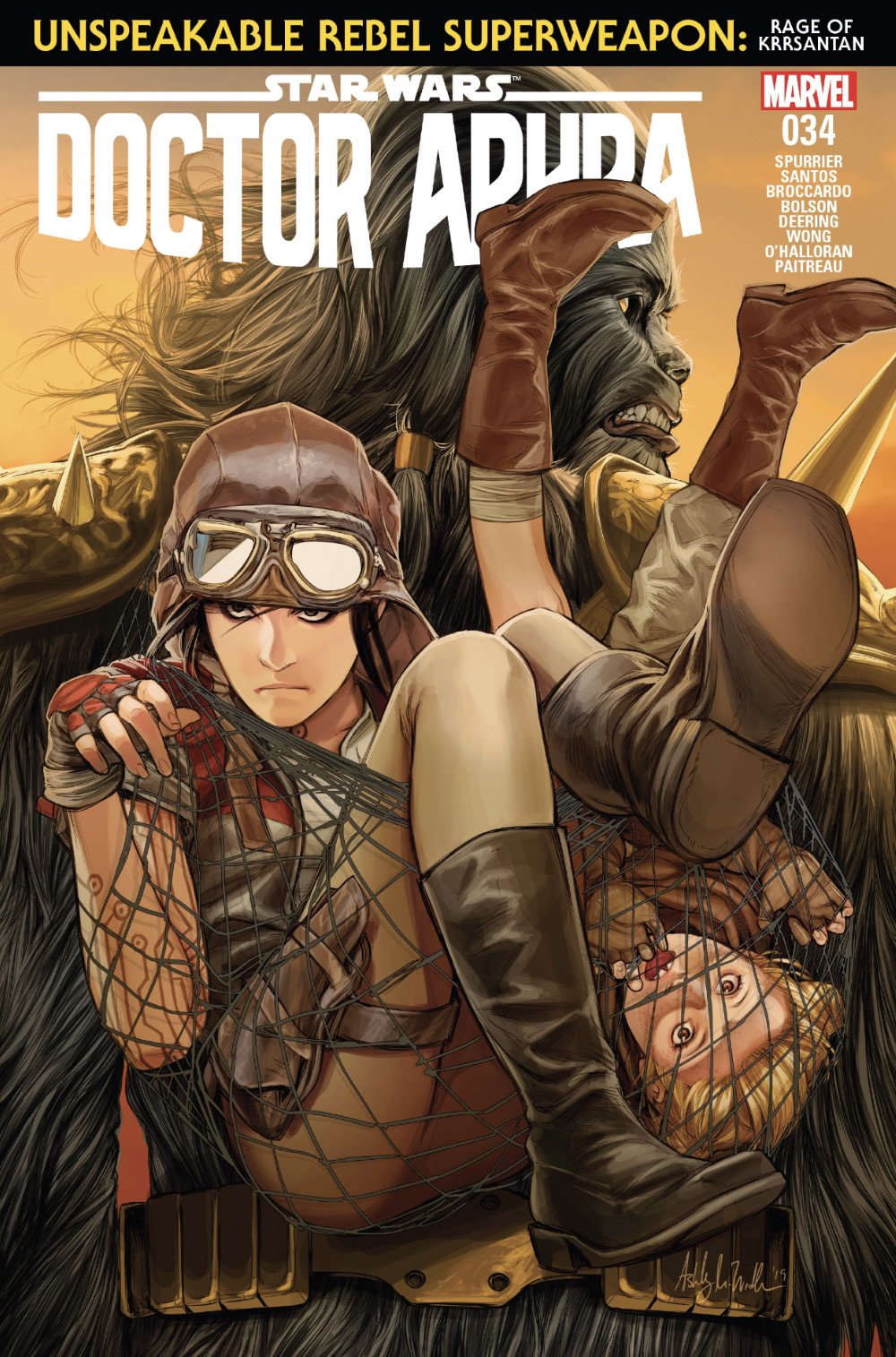 Doctor Aphra #34 Cover