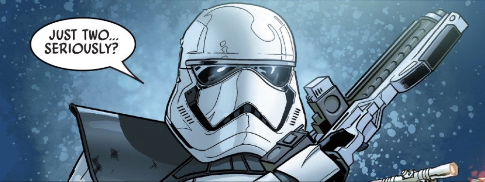 Galaxy's Edge #4 - stormtrooper