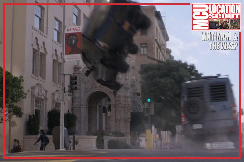San Francisco SUV Flip