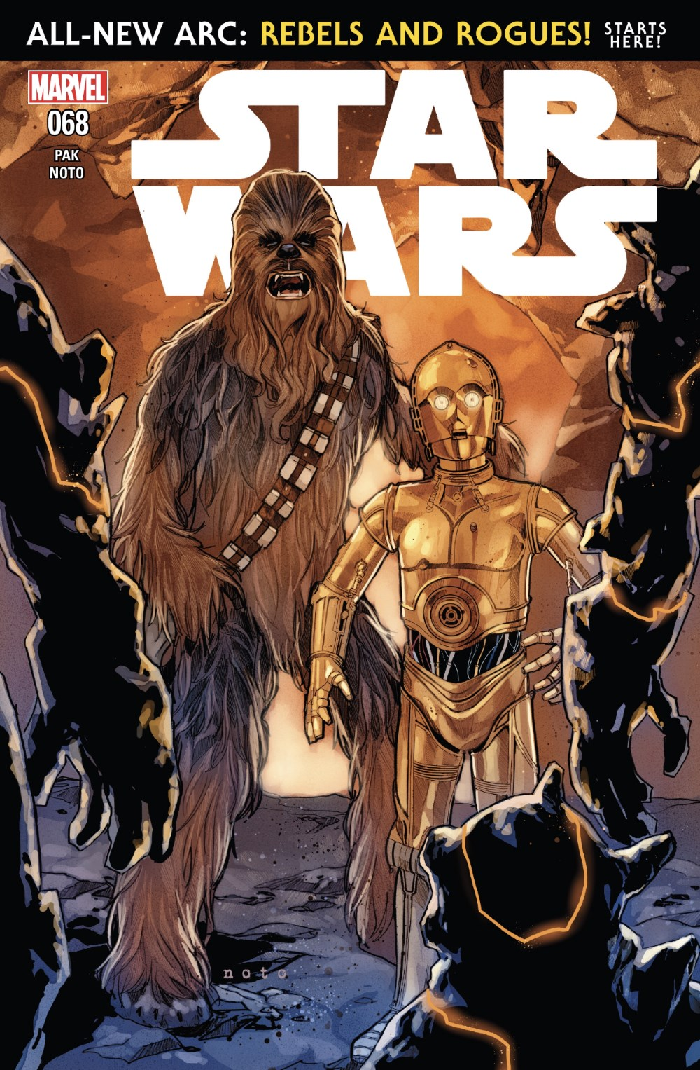 Star Wars #68 Cover