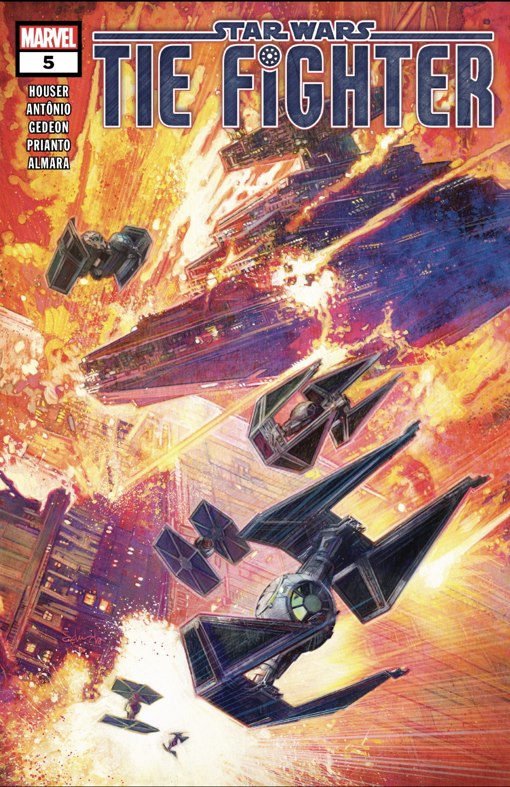 TIE Fighter #5 Cover
