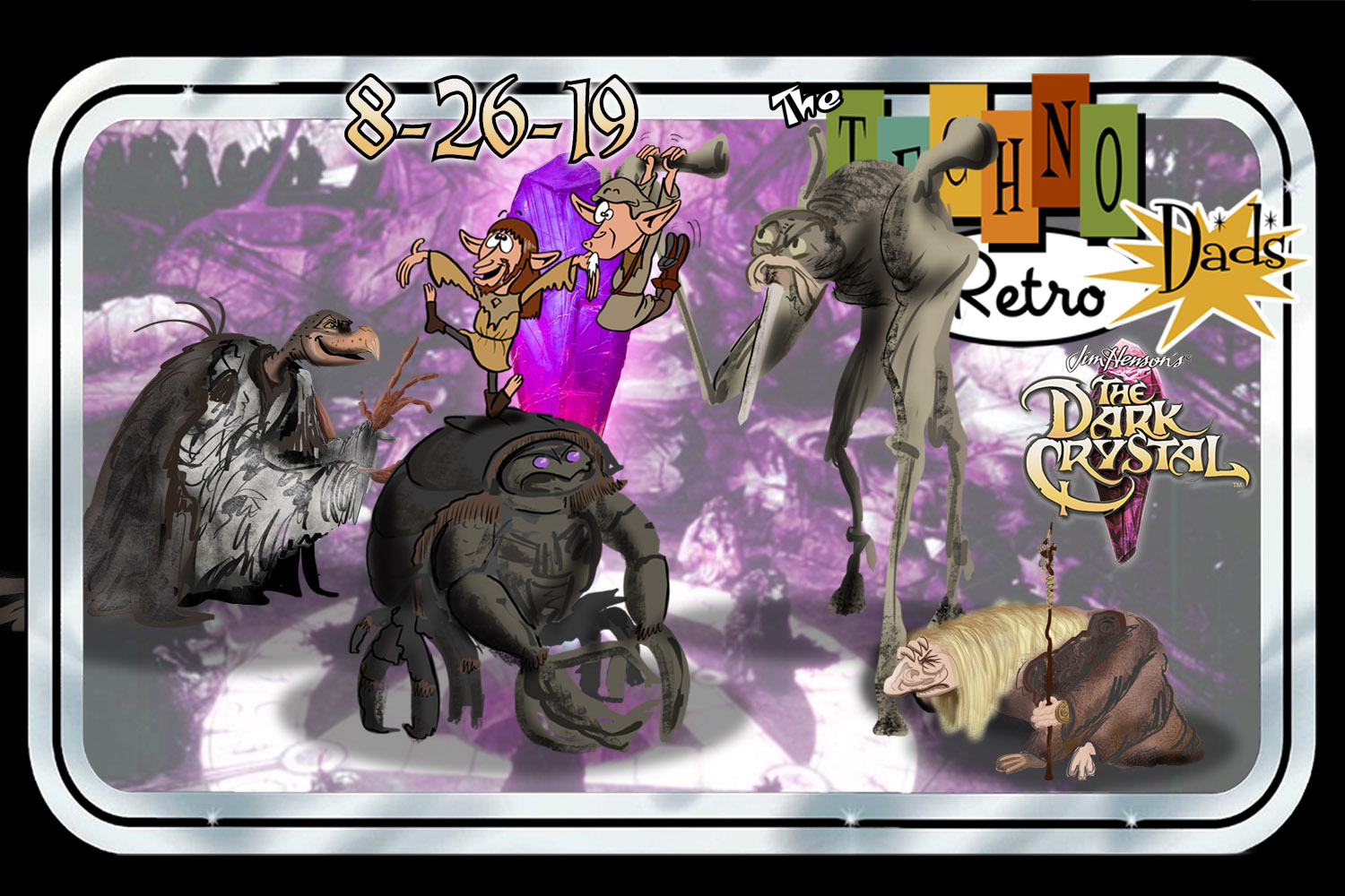 RetroZap's TechnoRetro Dads watch The Dark Crystal