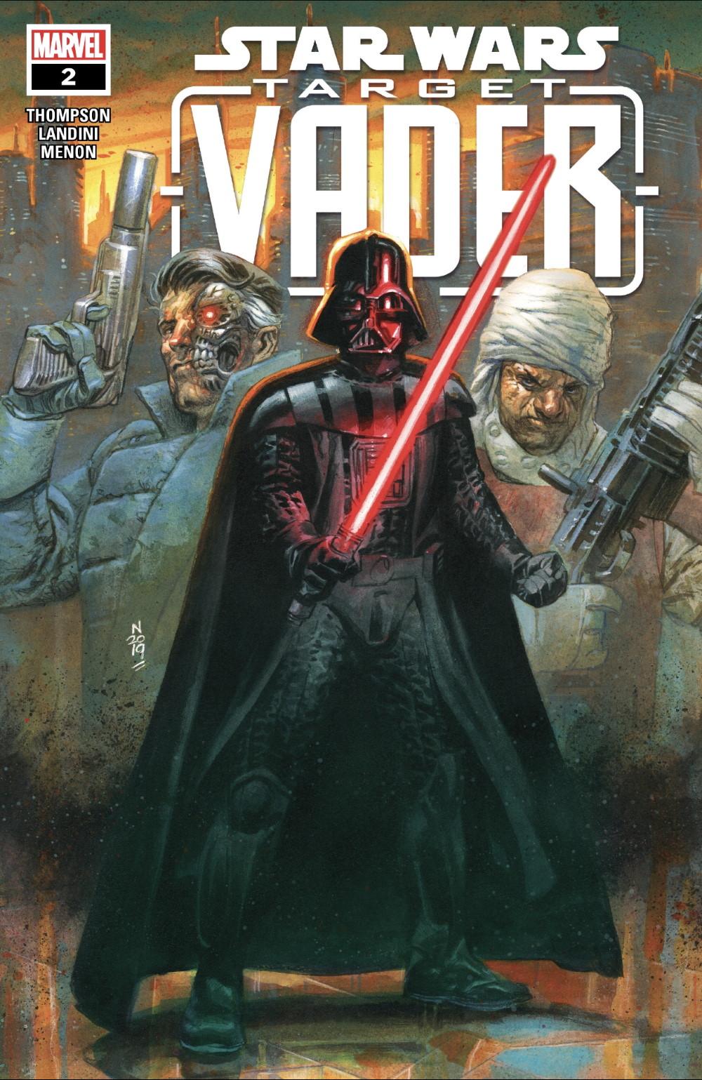 Target Vader #2 Cover