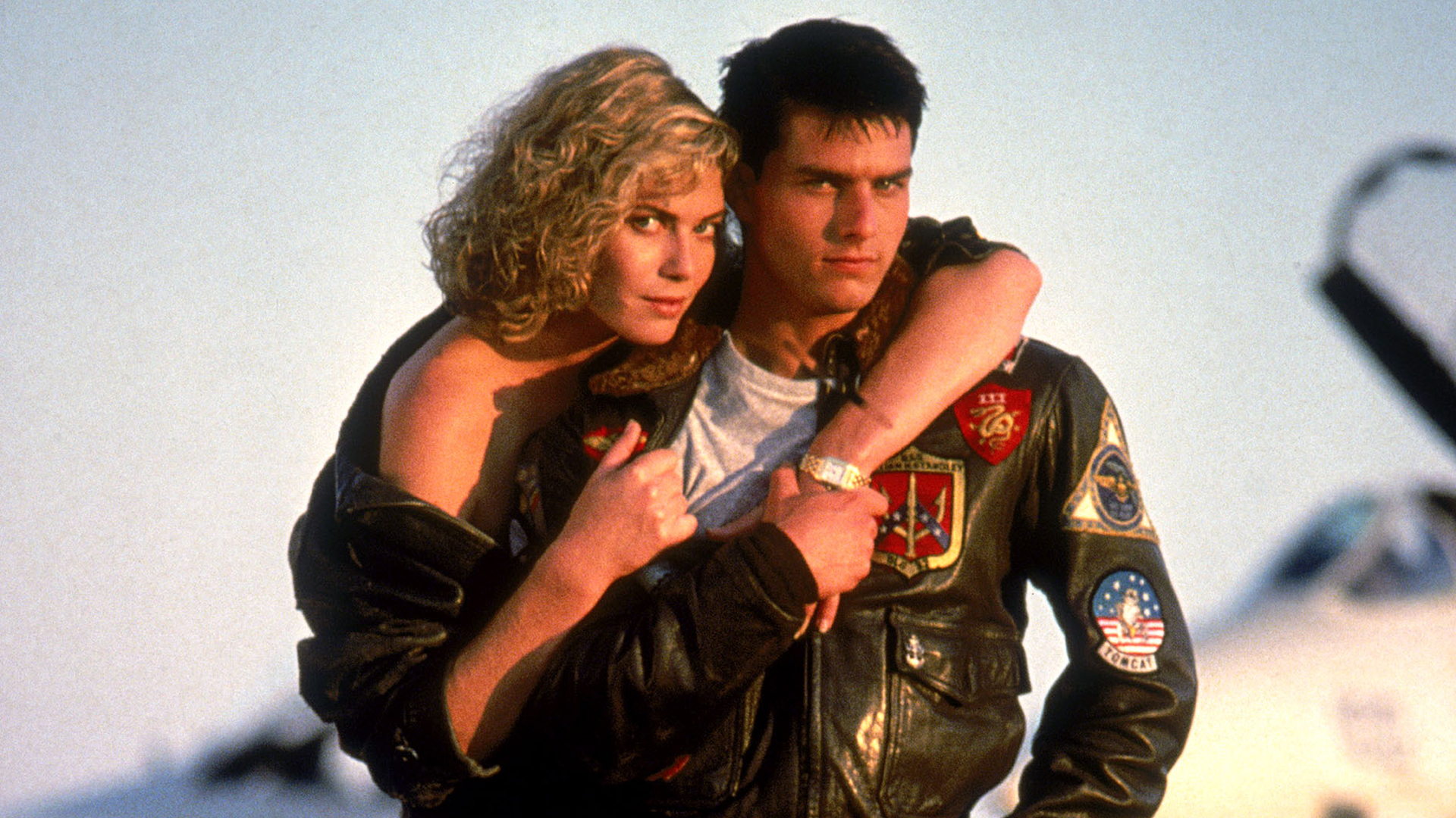 TOP GUN, Kelly McGillis, Tom Cruise, 1986, (c) Paramount/courtesy Everett Collection