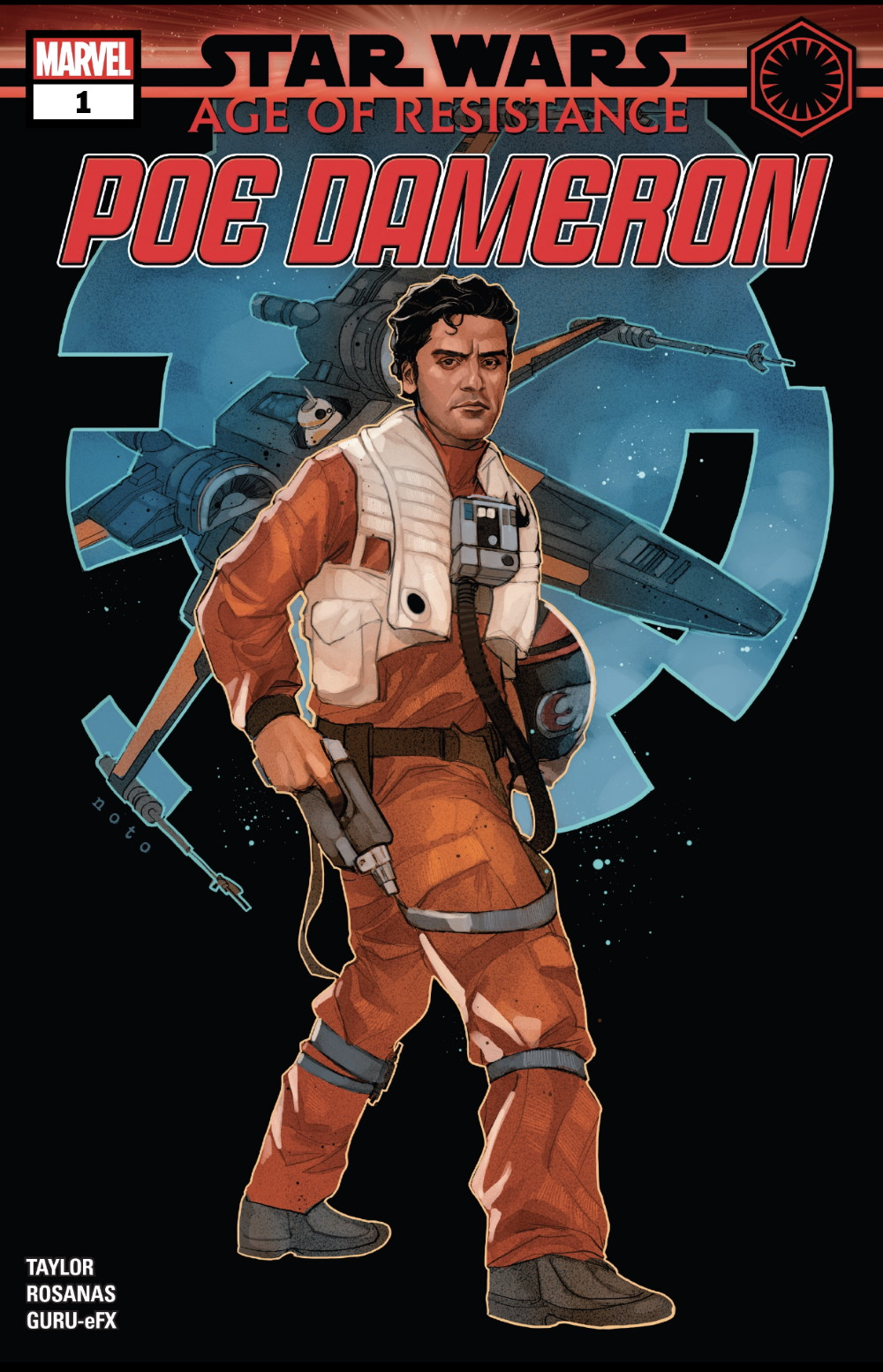 Age of Resistance - Poe Dameron #1 Cover