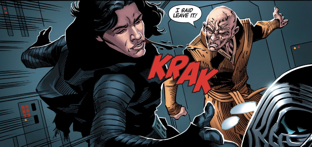 Snoke and Kylo - Leave it!