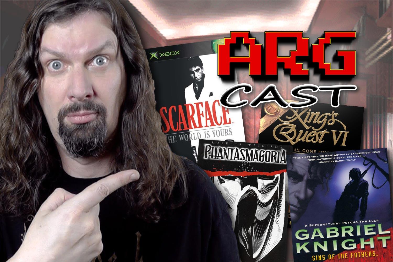 ARGcast #176: Sierra Games and History w/ MetalJesusRocks