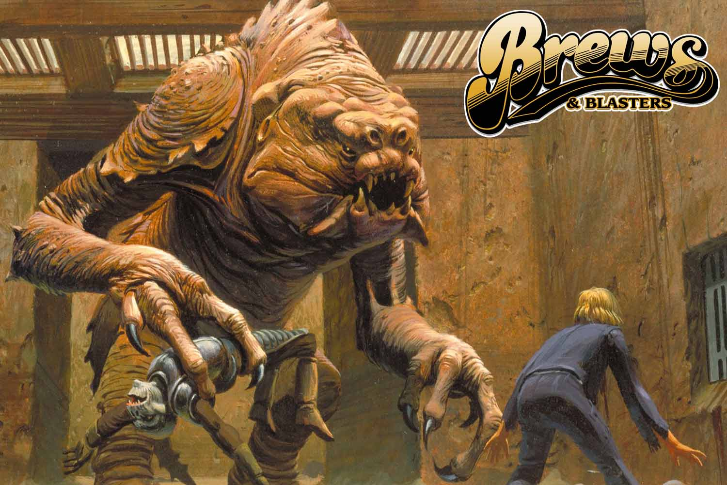 Would You Fight a Four-Foot Rancor Car Thief?