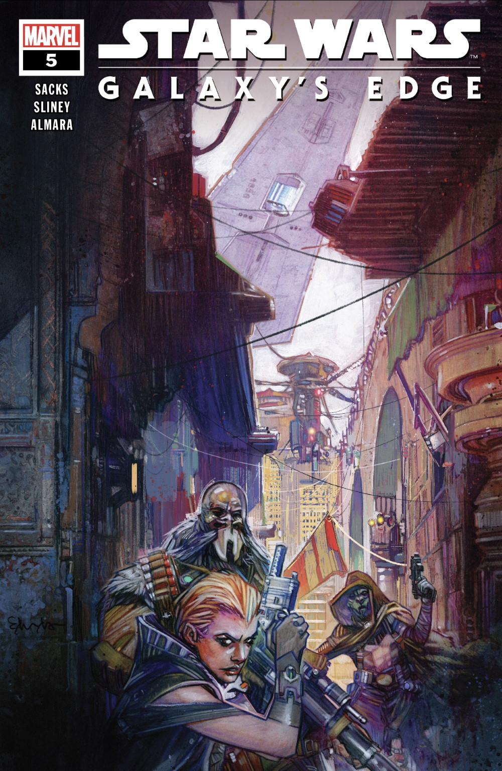 Star Wars Galaxy's Edge #5 Cover