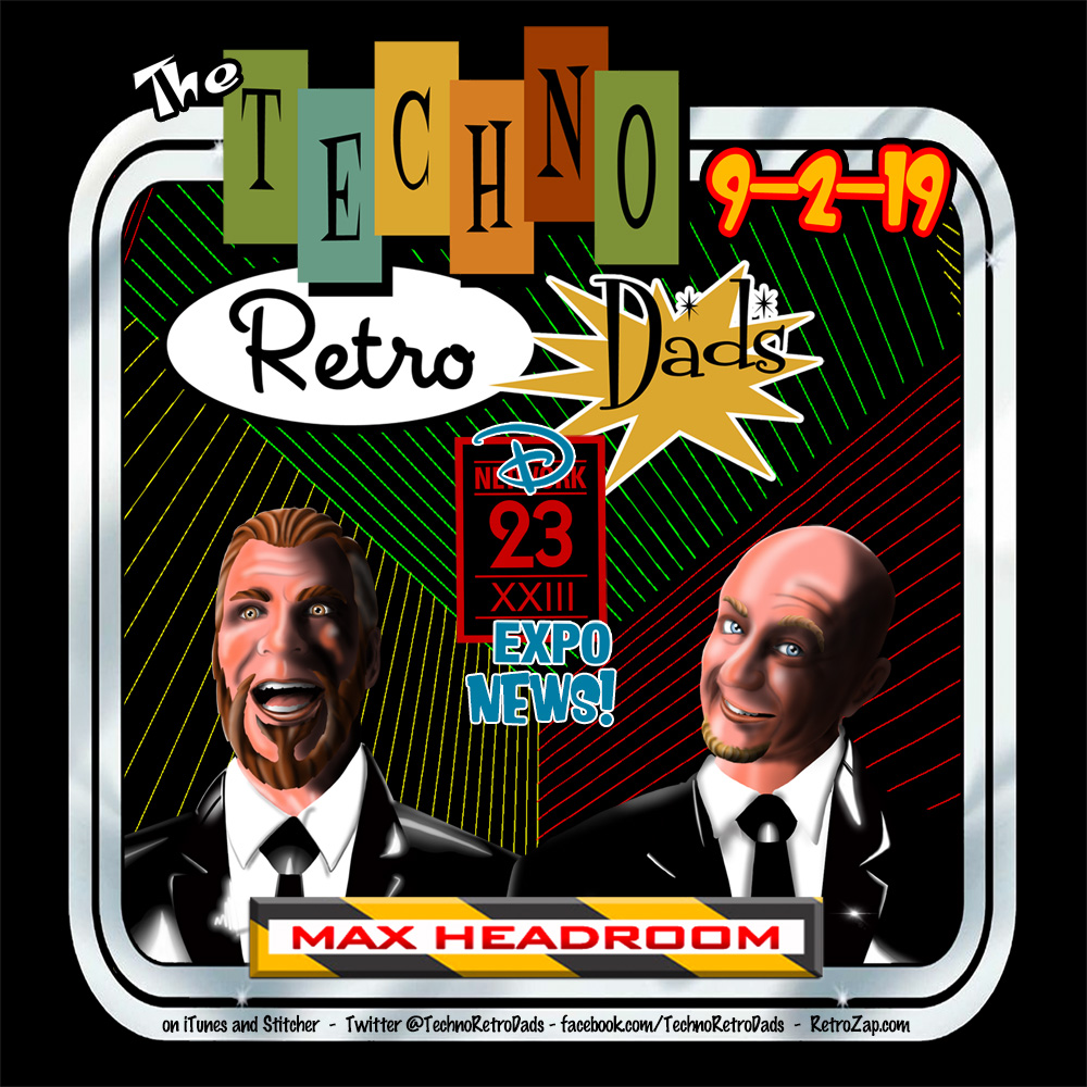 TechnoRetro Dads go Max Headroom for Star Wars News