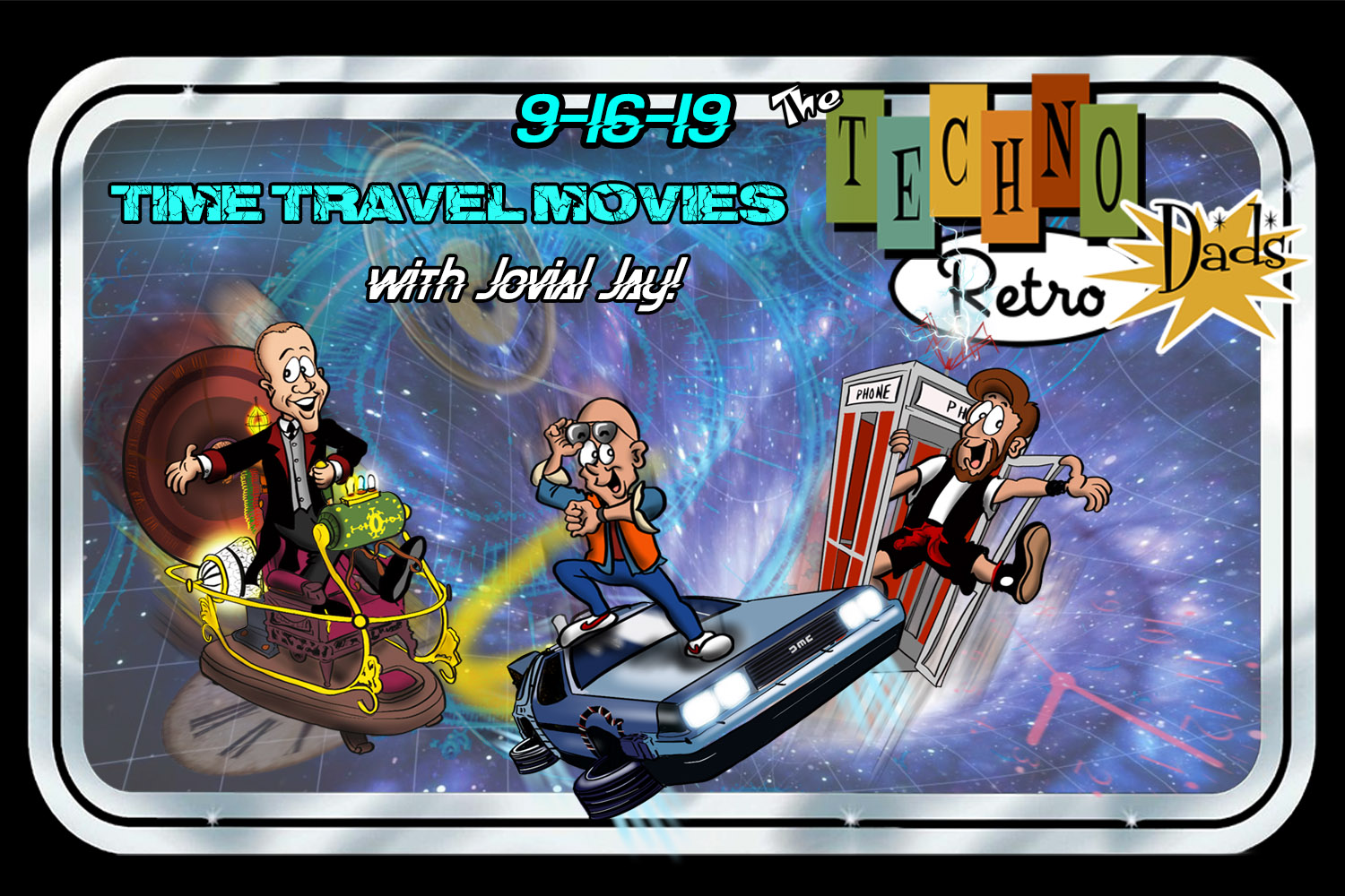 TechnoRetro Dads Time Travel with Jovial Jay
