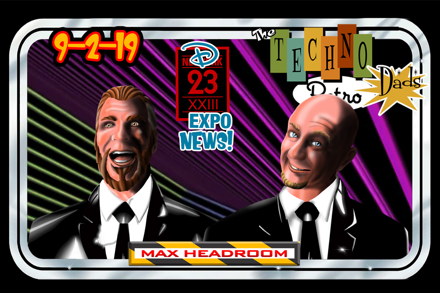shazbazzar and JediShua are Max Headroom