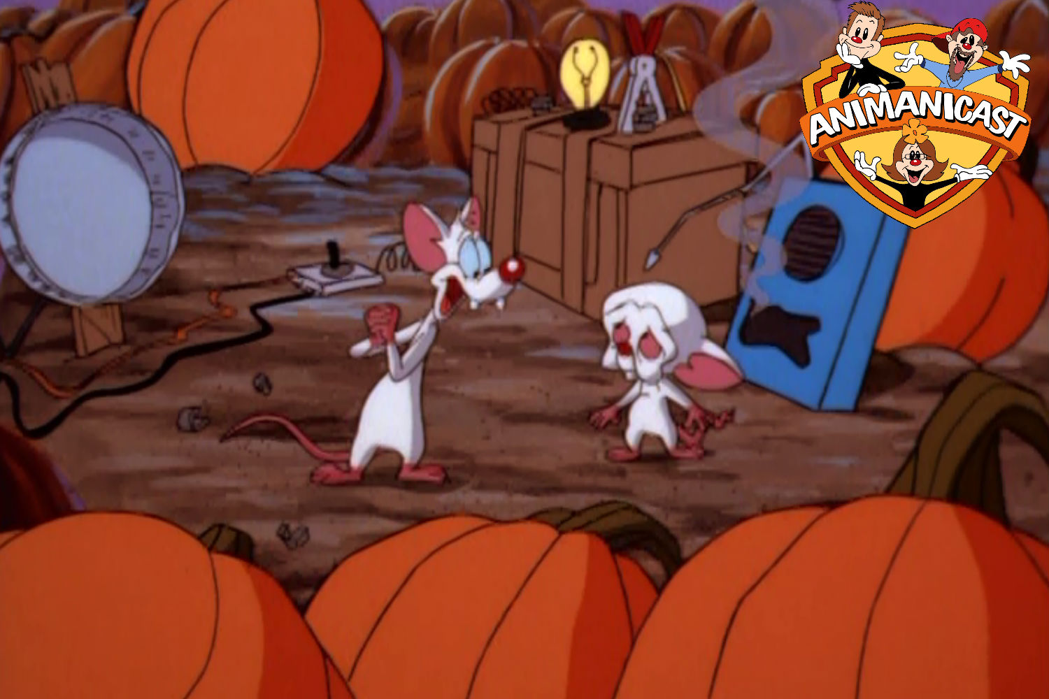 A Pinky and the Brain Halloween Review