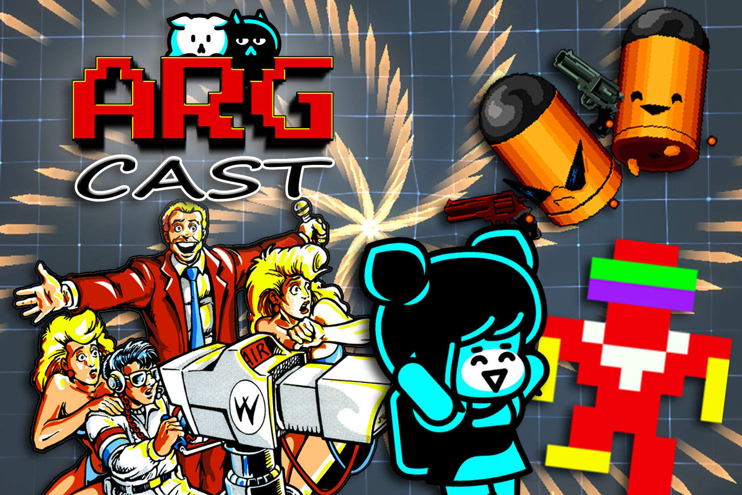 ARGcast #179: Twin-Stick Shooters w/ Will Lewis of Rose City Games