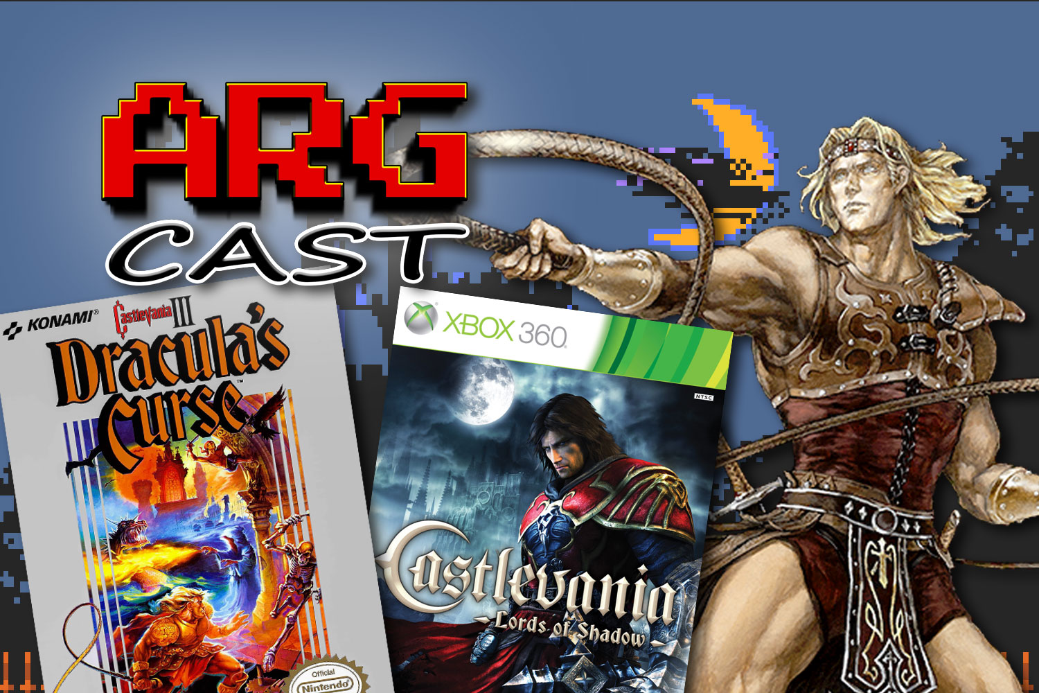 ARGcast #181: Whipping It in Castlevania w/ Andrew Moretti
