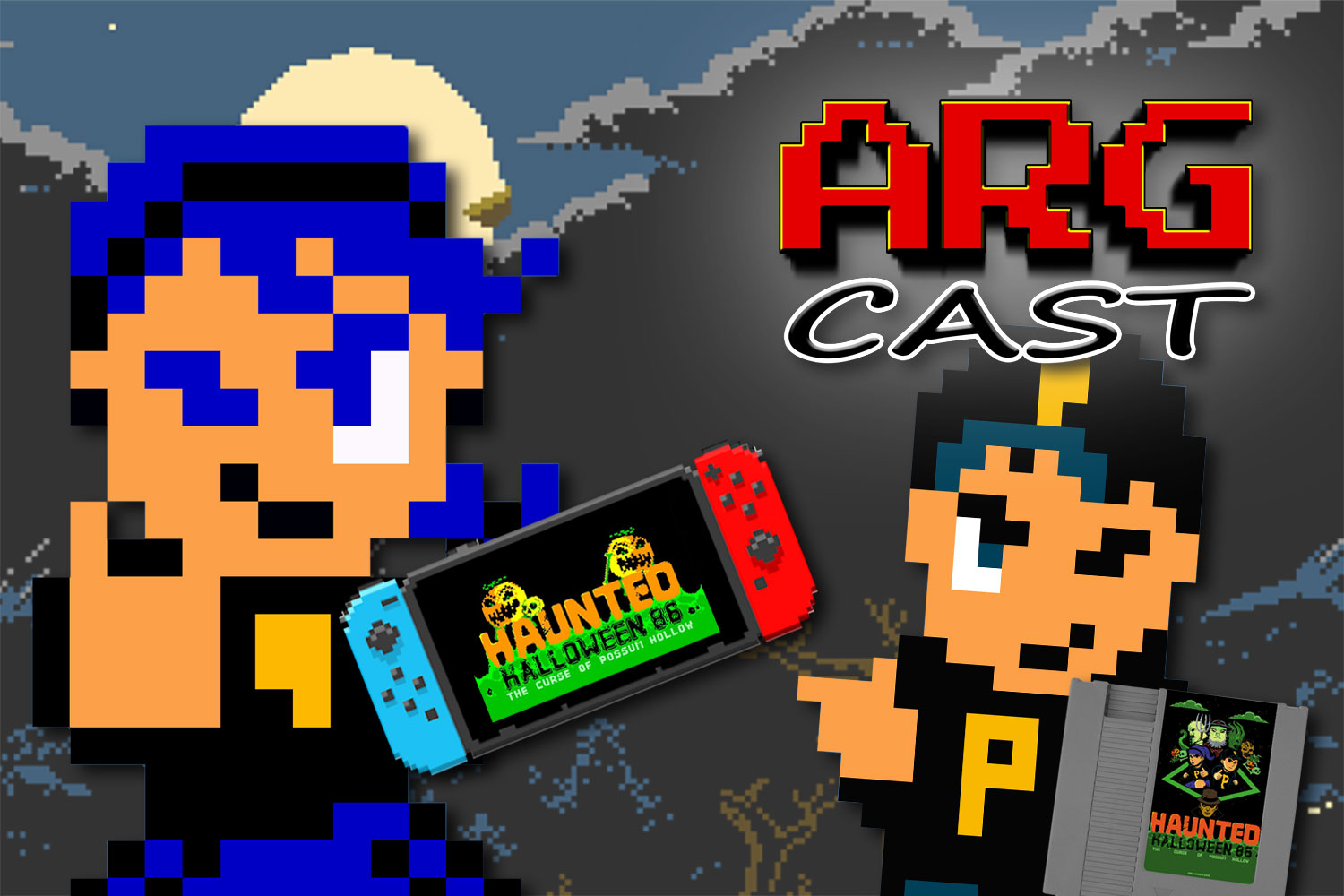 ARGcast Mini #32: From NES to Switch in Haunted Halloween '86