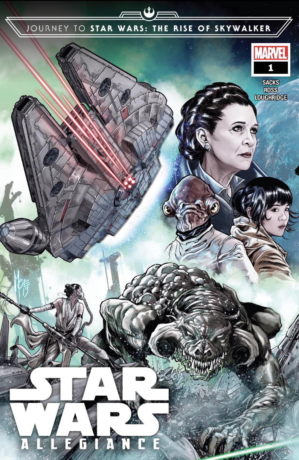 Star Wars Allegiance #1 Cover
