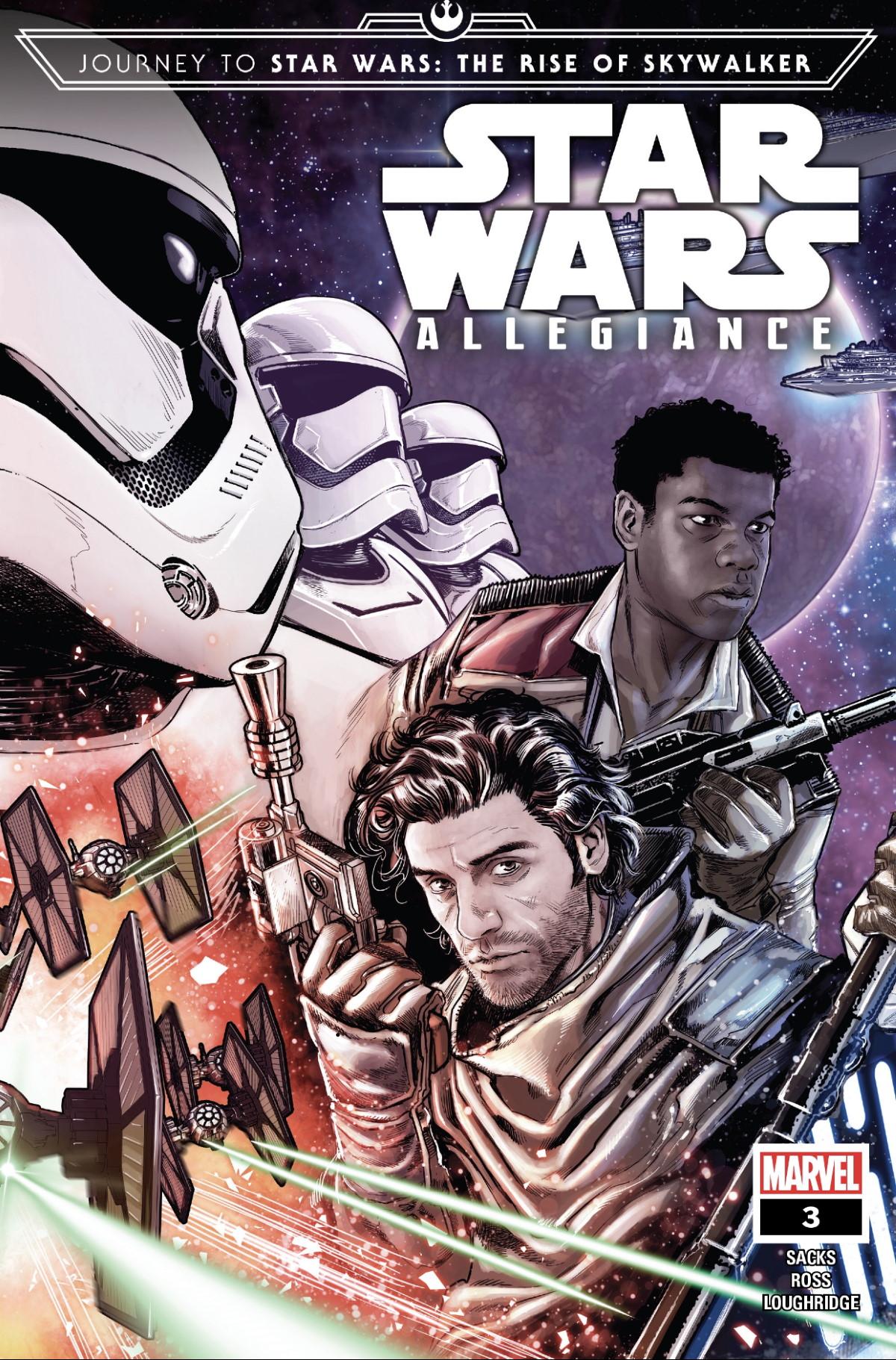 Star Wars Allegiance #3 Cover
