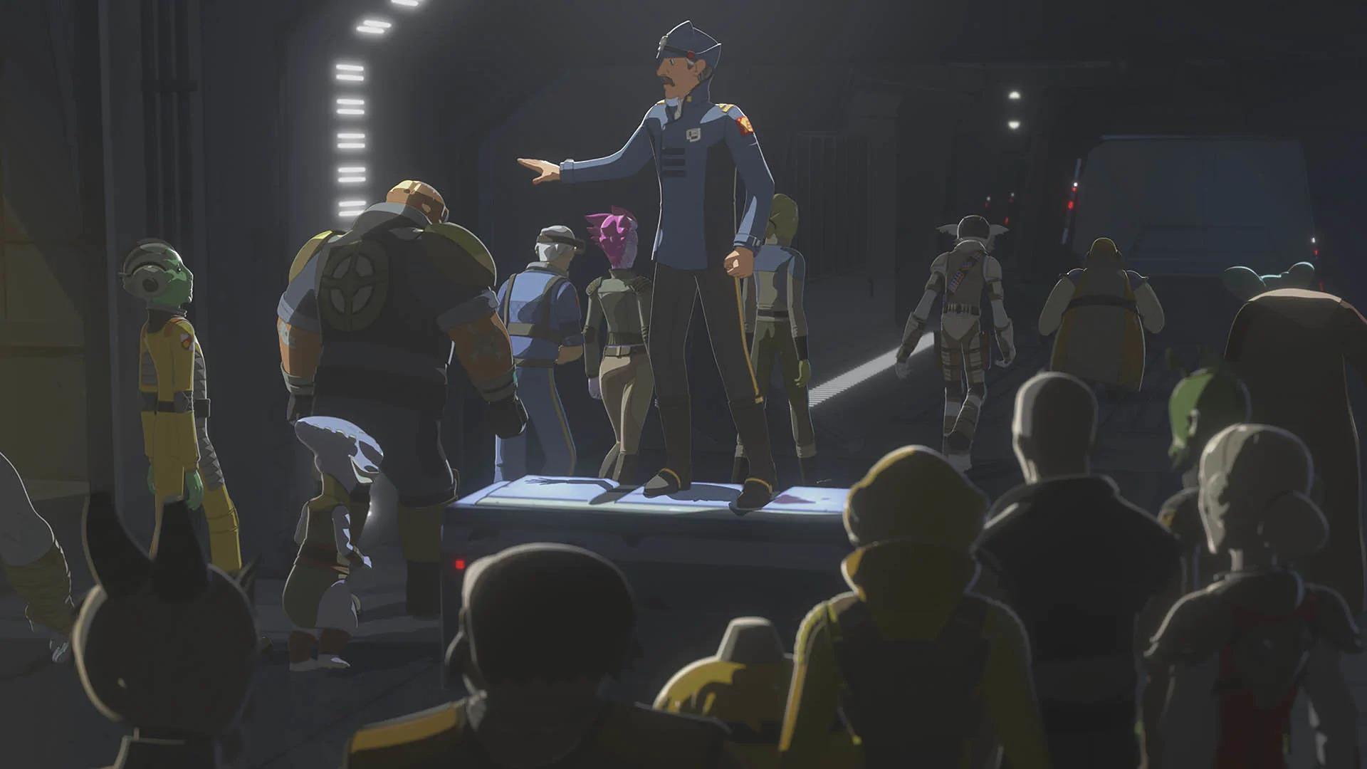 Star Wars Resistance Hunt on Celsor 3