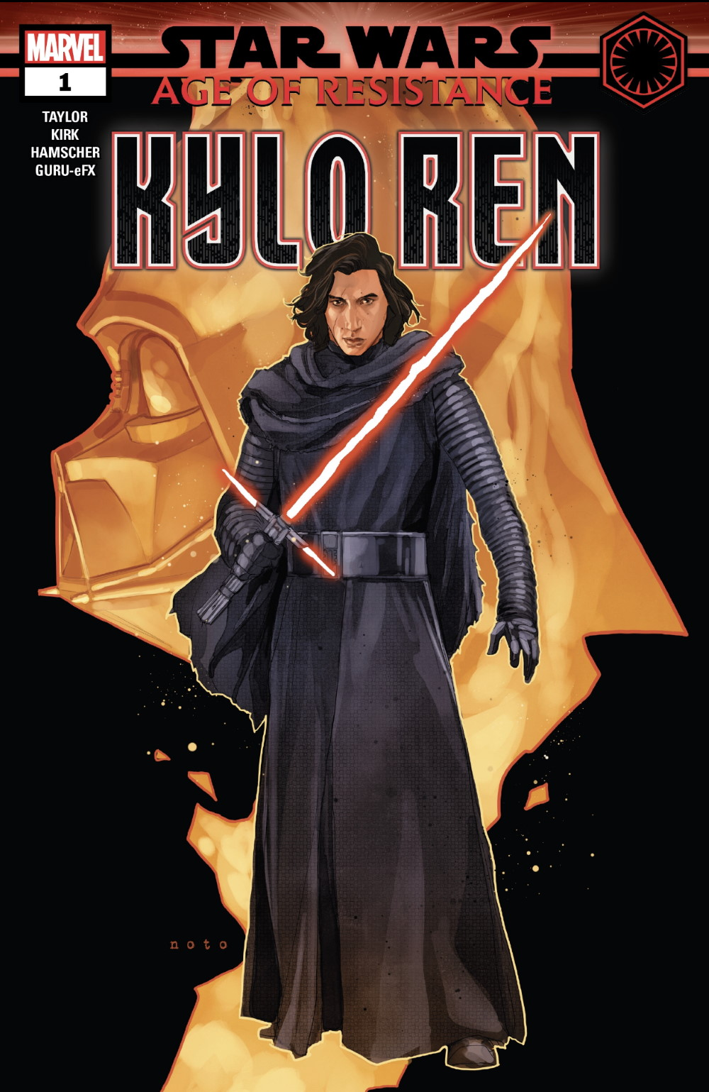 Age of Resistance Kylo Ren #1 Cover