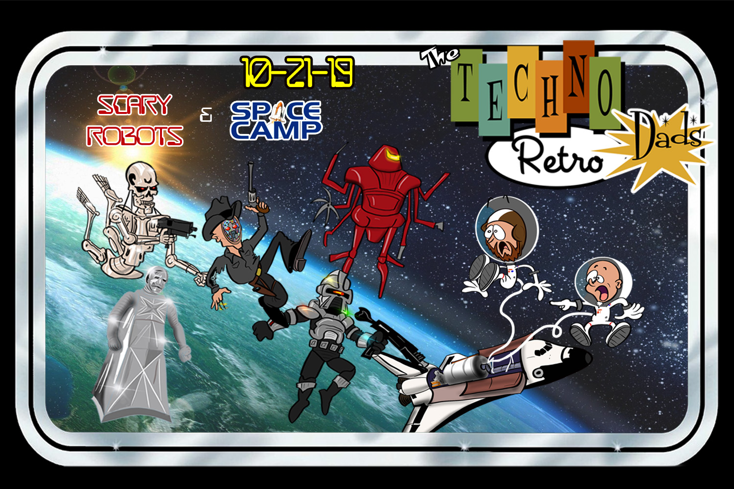 TechnoRetro Dads: Space Camp with JediShua and Scary Robots