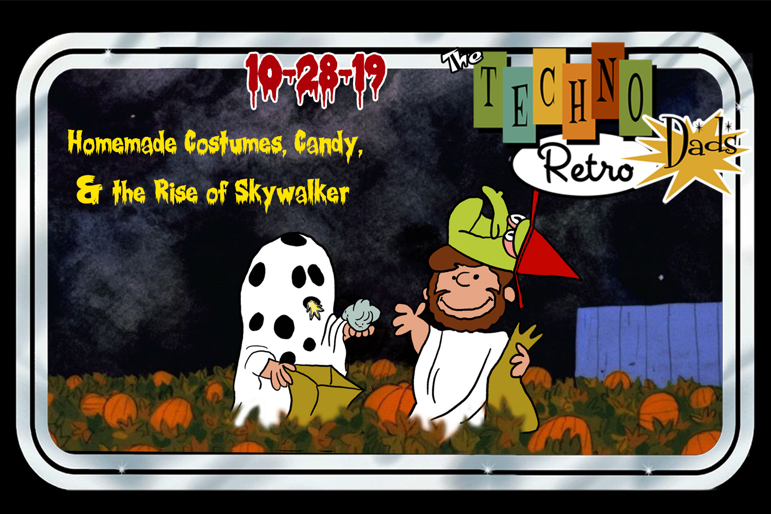 Trick-or-Treat with TechnoRetro Dads and friends
