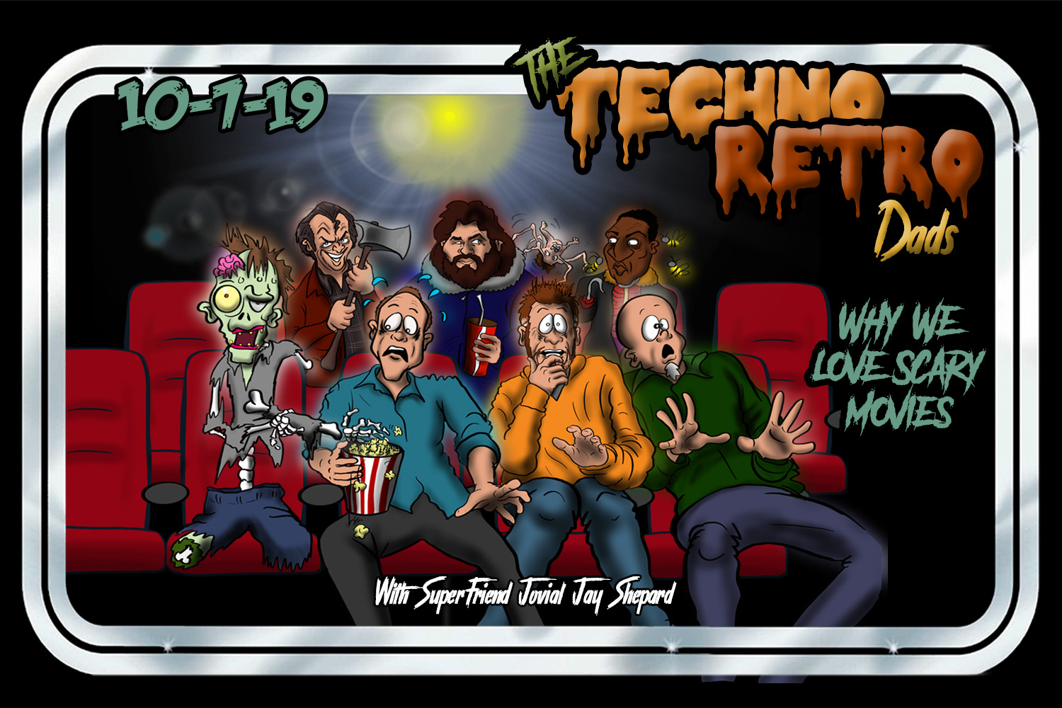 TechnoRetro Dads horror movies with Jovial Jay