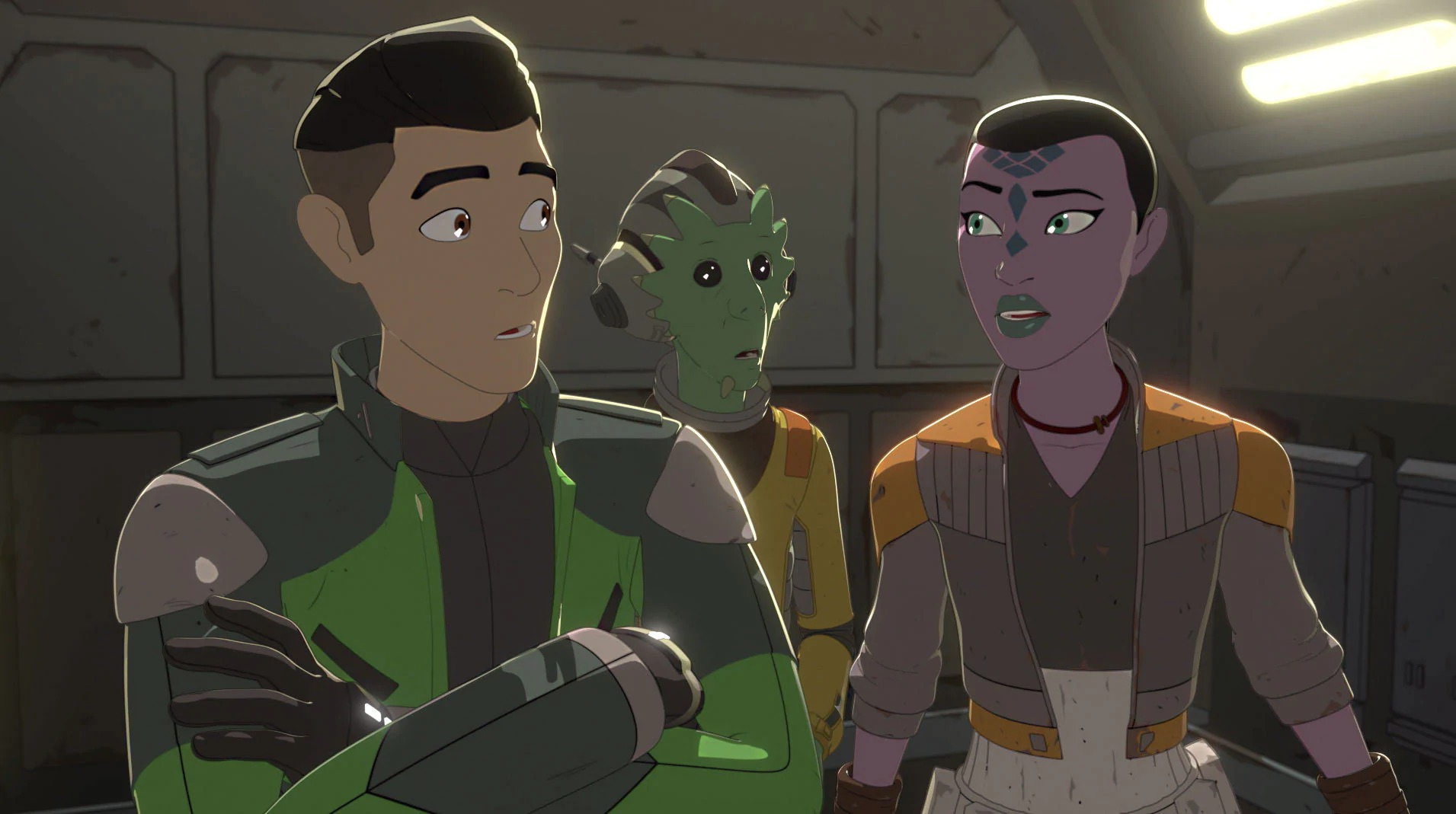 Star Wars Resistance: A Quick Salvage Run