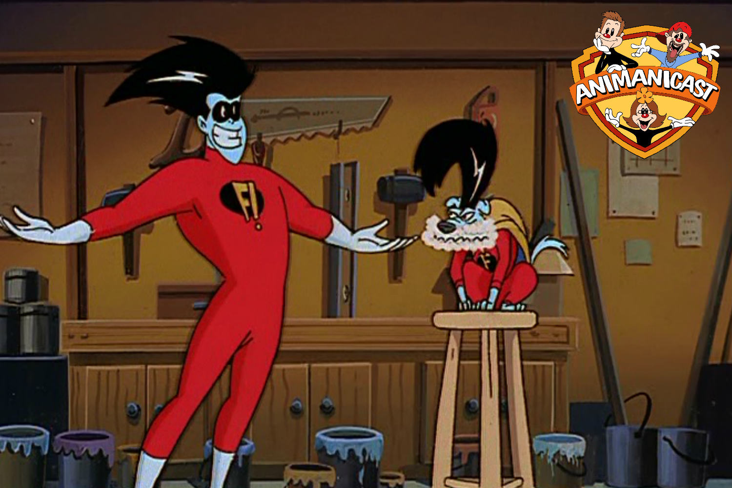 Discussing Freakazoid Episode 5 Foamy the Freakadog