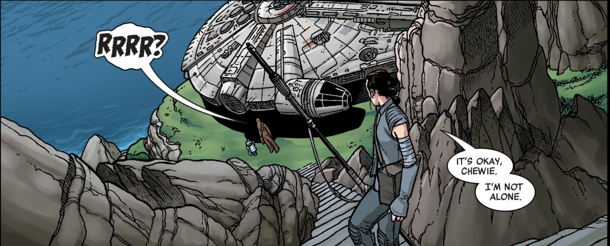 Age of Reistance: Rey #1 - Not alone