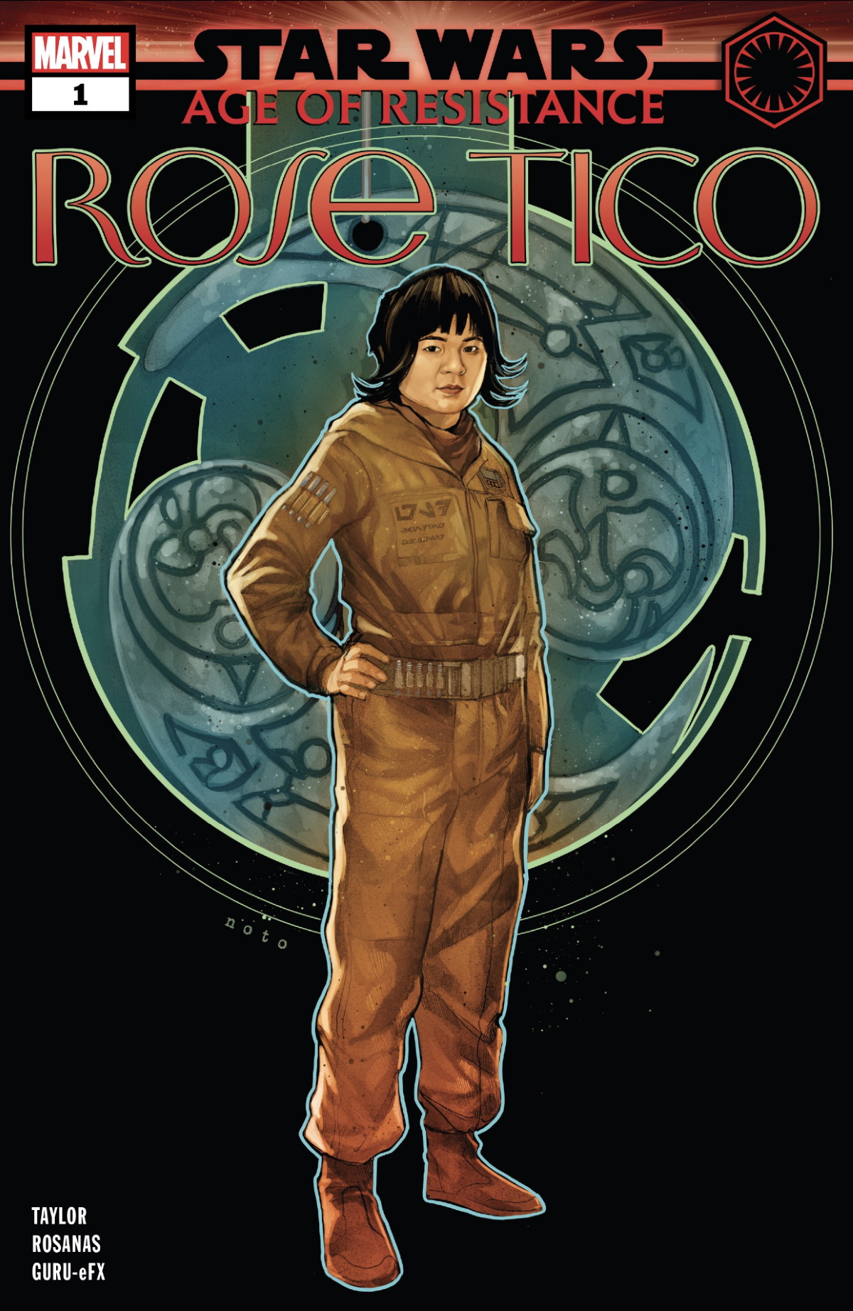 Star Wars: Age of Resistance - Rose Tico #1 Cover