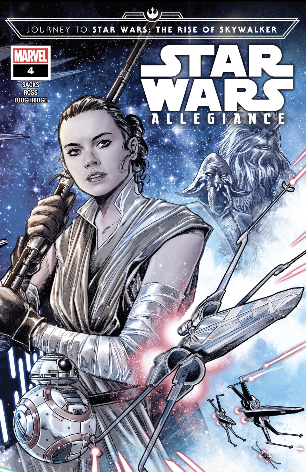 Star Wars Allegiance #4 Cover