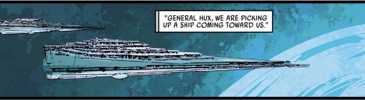 Star Wars Allegiance #4 Star Destroyer