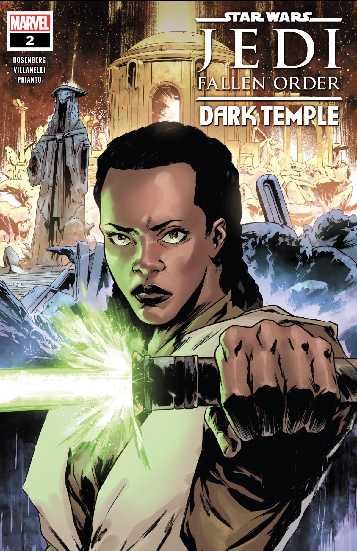 Jedi: Fallen Order - Dark Temple #2 Review Cover