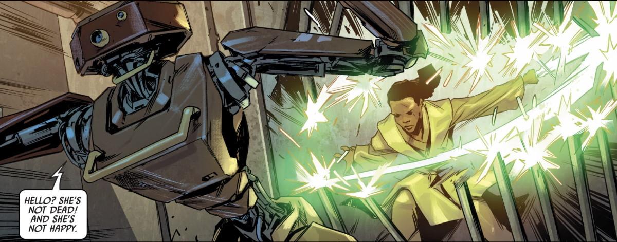 Jedi: Fallen Order - Dark Temple #2 jail break